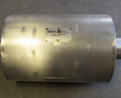 MinNoDOC diesel oxidation catalyst emission control system