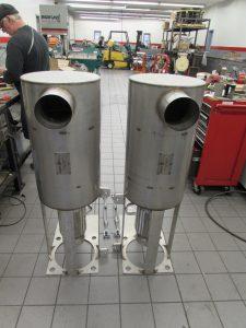 MinNoDOC custom fabricated at Airflow Catalysts factory