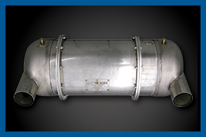 high performance CDPF – Catalyzed Diesel Particulate Filters – reduce DPM, CO and NO2 better than others.