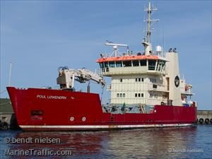 Danish coastal ship Poul Loweenoern